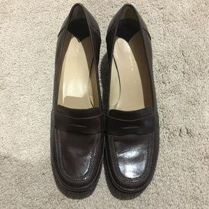 ANTONIO MELANI Brown Leather shoes SZ 9.5M